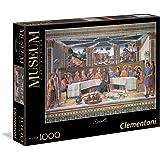 Clementoni Puzzle de 1000 piezas, Vaticano, diseño Rosselli: La Última Cena (392896)