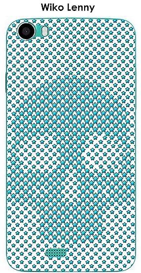Onozo Carcasa Wiko Lenny diseño de calavera con estrellas ...
