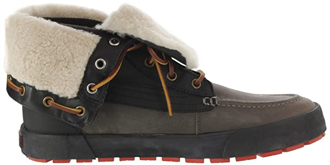 Amazon.com | Polo Ralph Lauren Mens Declan, Black/Grey, 7.5 D US | Snow Boots
