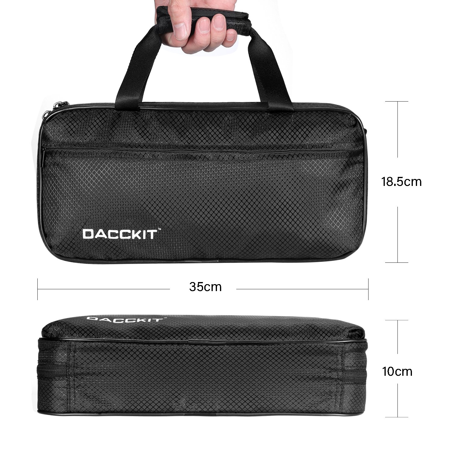 DJI Osmo Mobile 2 Carrying Case by DACCKIT - fit for DJI osmo mobile 2 Handheld Smartphone Gimbal with tripod combo, Extension Stick, Base by DACCKIT (Image #6)