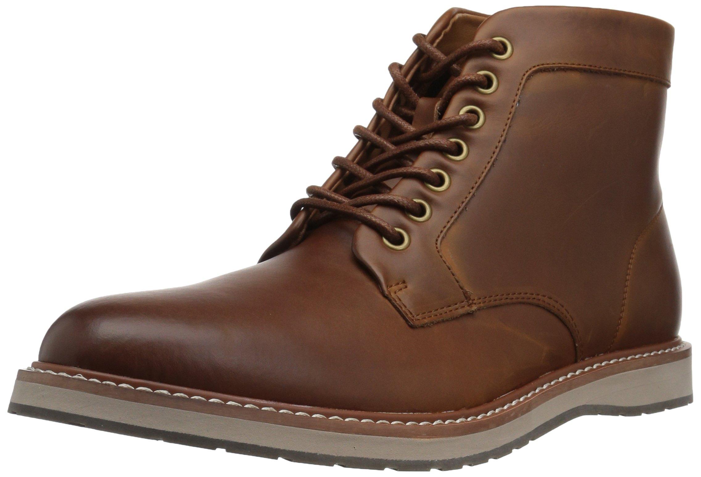 Tommy Hilfiger Men's Lari Chukka Boot, Cognac, 10 Medium US