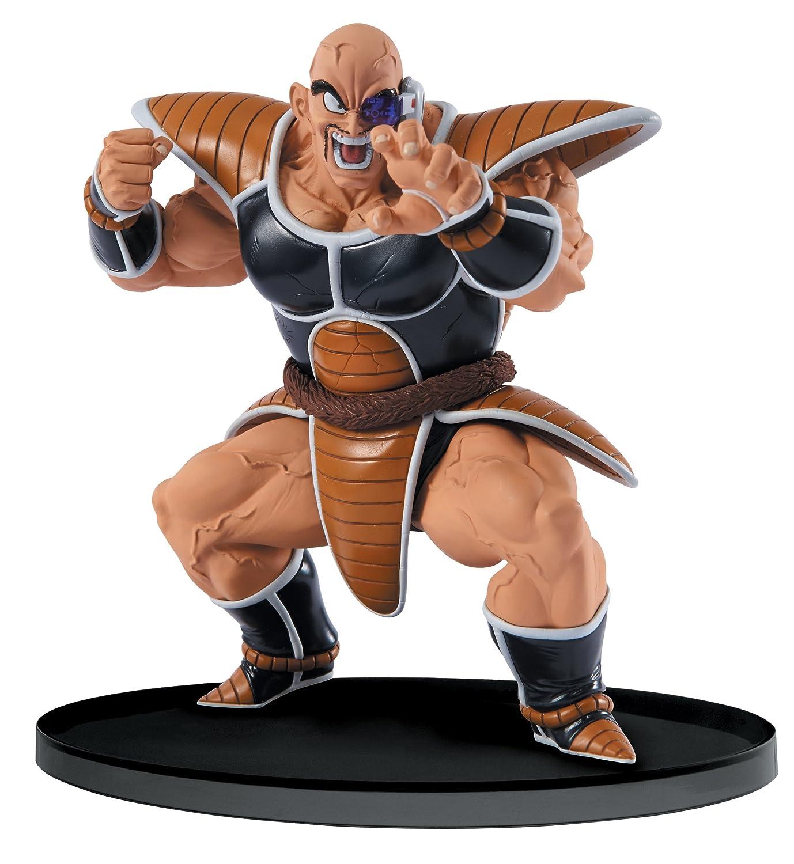 amazon com banpresto dragon ball z 5 5 inch nappa figure sculture