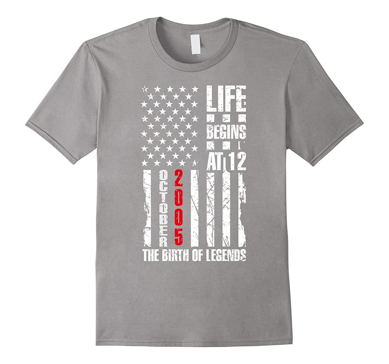 12th Birthday Gift For a Kid 12 Years Old Born in 2005 Shirt-T-Shirt
