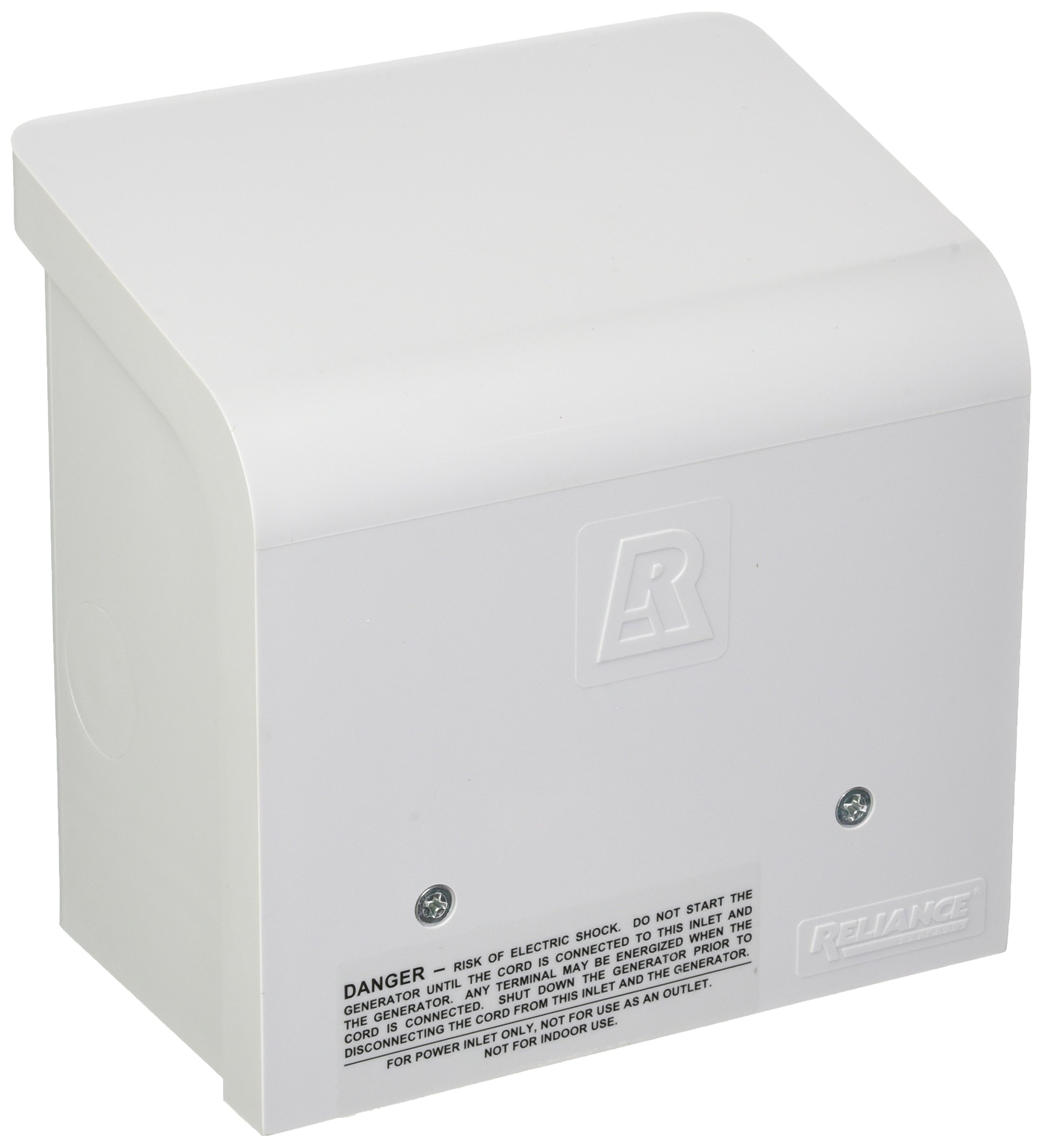 Reliance Controls Non-Metallic Power Inlet Box, Amps 30 by Reliance Controls