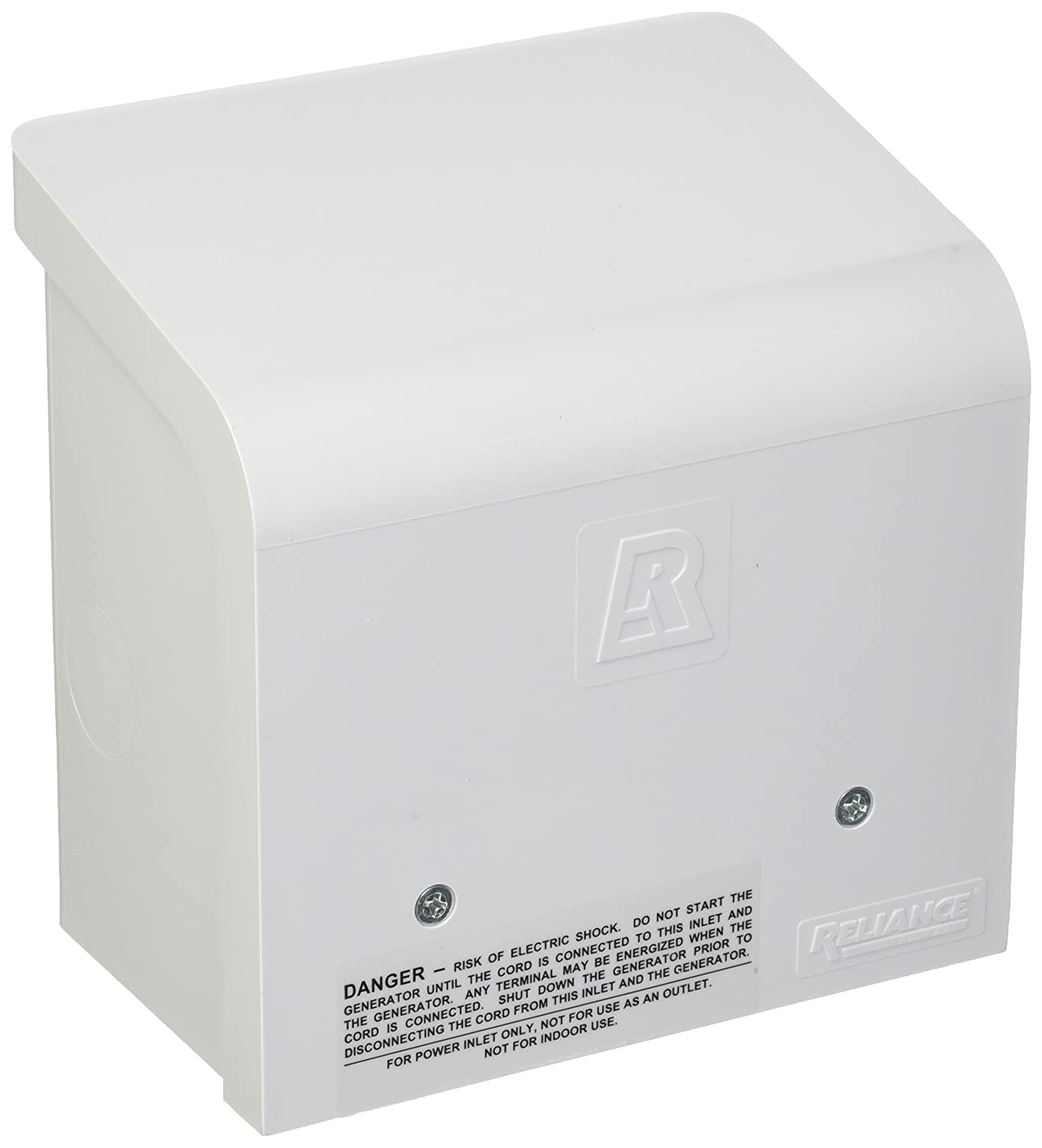Reliance Controls Corporation PBN30 30-Amp NEMA 3R Power Inlet Box for Generators Up to 7,500 Running Watts