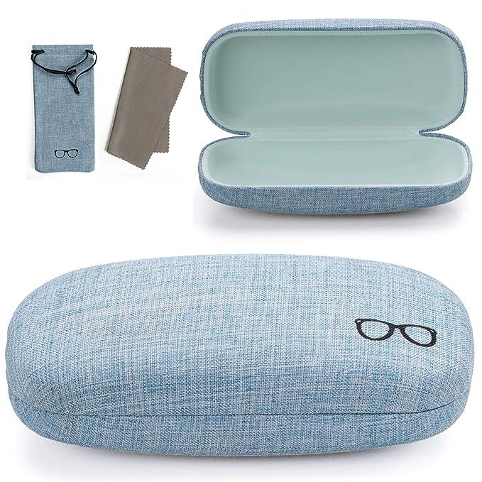 Amazon.com: Vemiss - Funda para gafas de sol (lino, tamaño ...