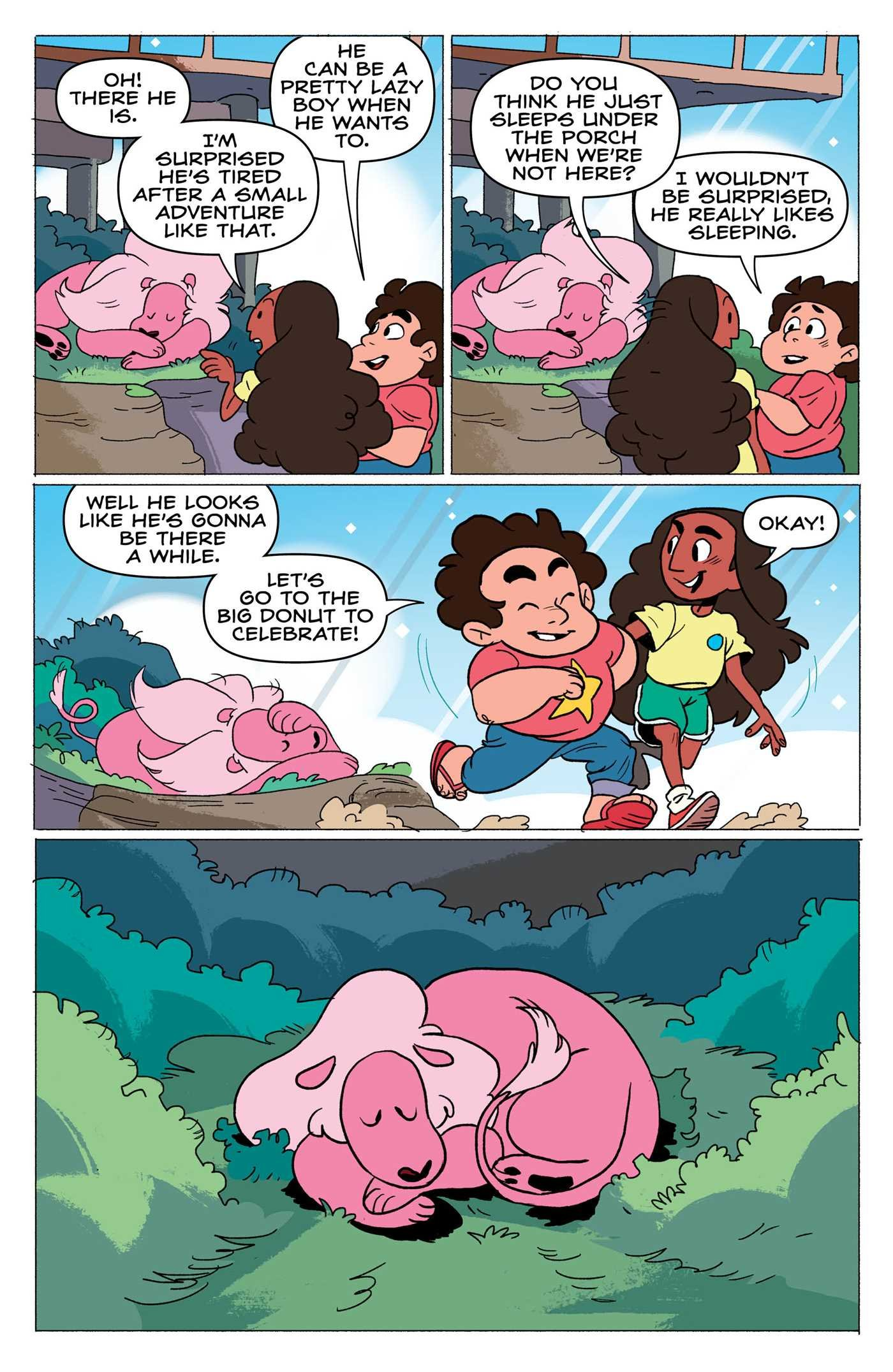 Steven Universe: Punching Up (Vol. 2) by KaBOOM! (Image #3)