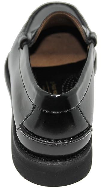 Zapato Mocasín Cosido a Mano EN Inca Mallorca; Piel de Máxima Calidad, Color Negro: Amazon.es: Zapatos y complementos