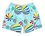 UZZI Dry Fast Microfiber Swim Shorts with Lining