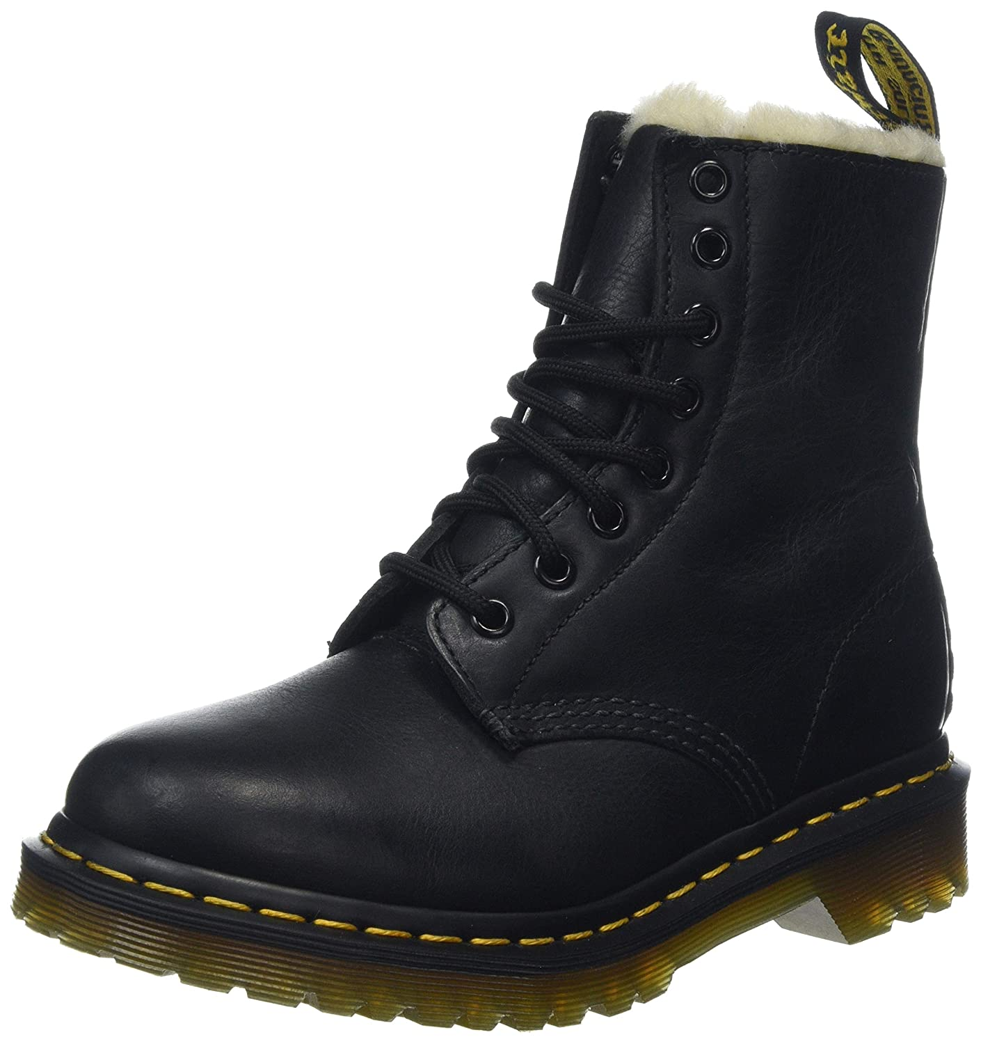 sneakers biggest discount new lifestyle Dr. Martens Women's Serena Burnished Wyoming Leather Fashion Boot