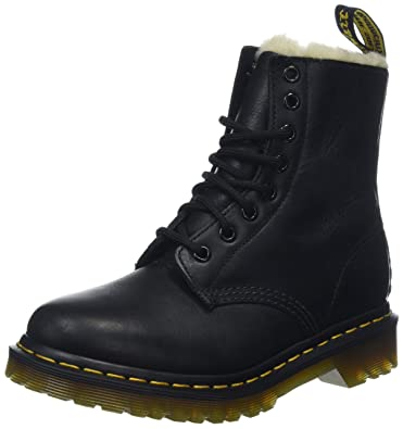 4982dbb01614 Dr. Martens Women s Serena Burnished Wyoming Leather Fashion Boot Black