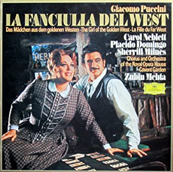 Puccini: La Fanciulla Del West (Gesamtaufnahme in italienischer ...