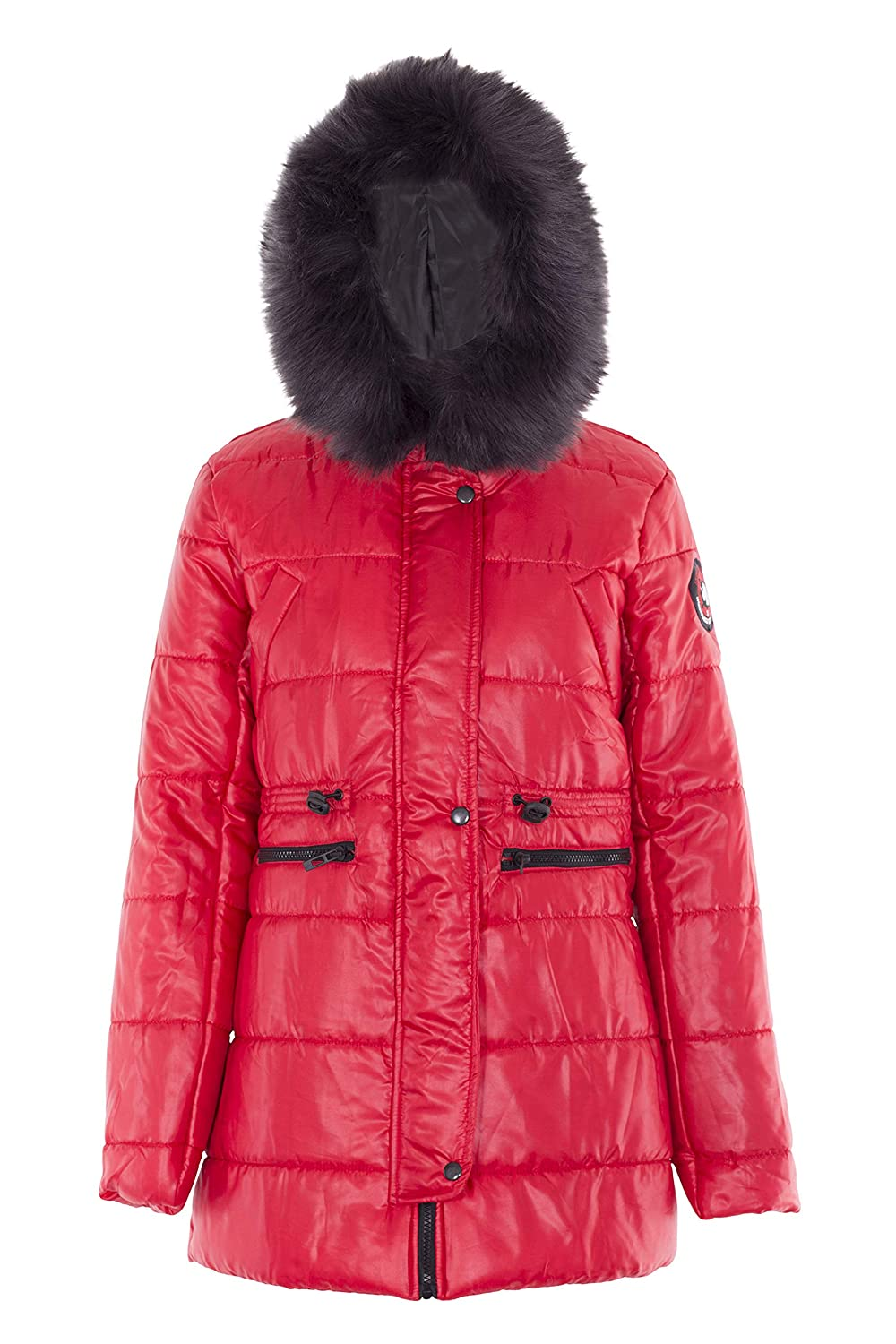 Noroze Womens Jacket Ladies Padded Quilted Parka Coat