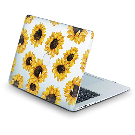 super popular 9c00b 5e45d ZVStore Sunflower Protective Shell Sleeve Plastic Light Brown Design Hard  Pro Case for MacBook (Air 13 (A1369 & A1466))
