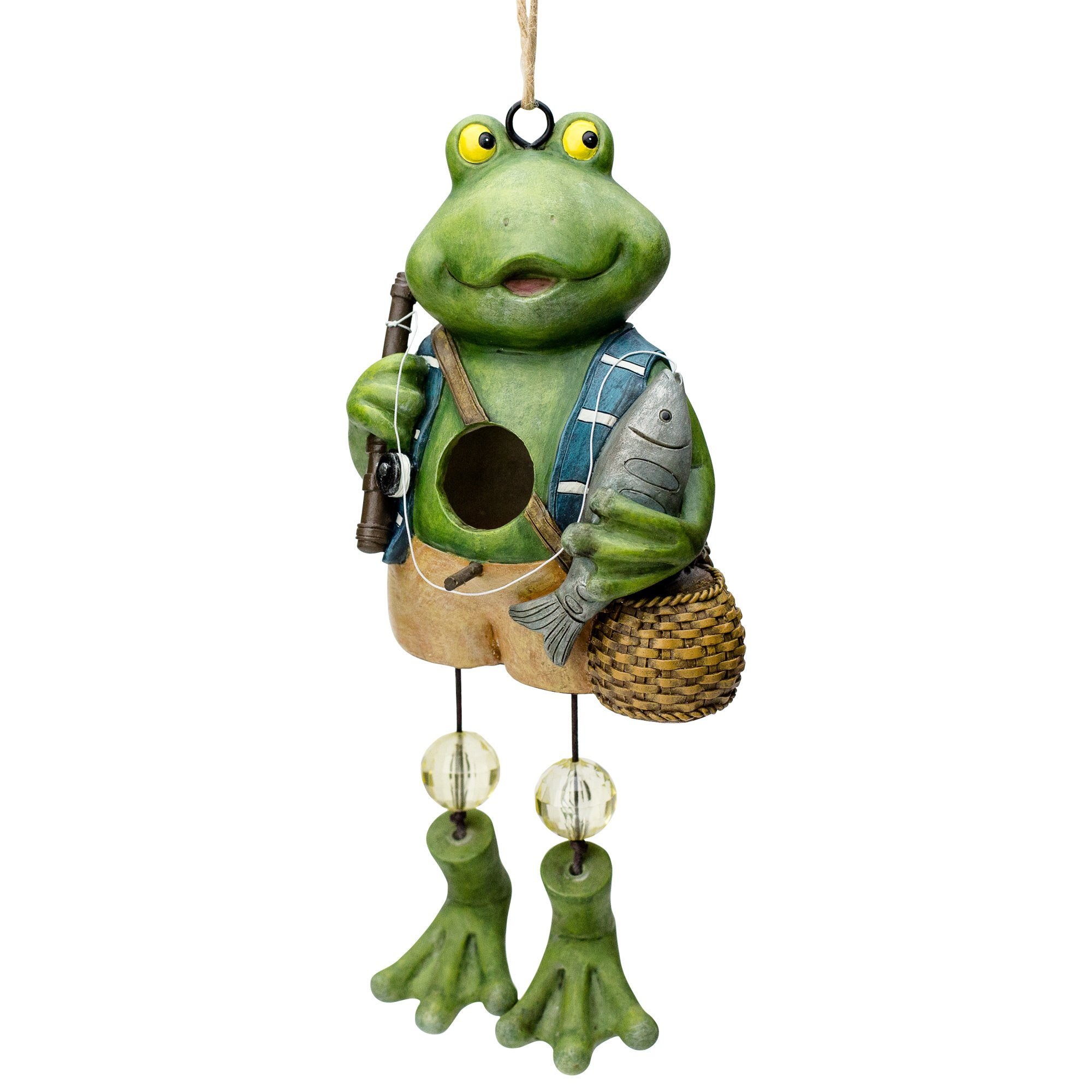 Frog Birdhouse --- Froggin' and Fishin' | Gifts and Décor | By Best Home Products