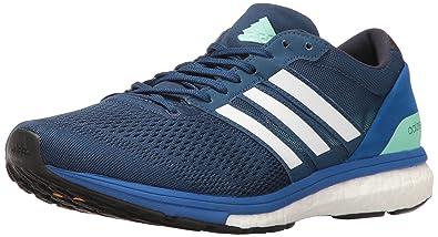 adidas Performance Men's Adizero Boston 6 m Running Shoe, Mystery Blue/Dark Navy/