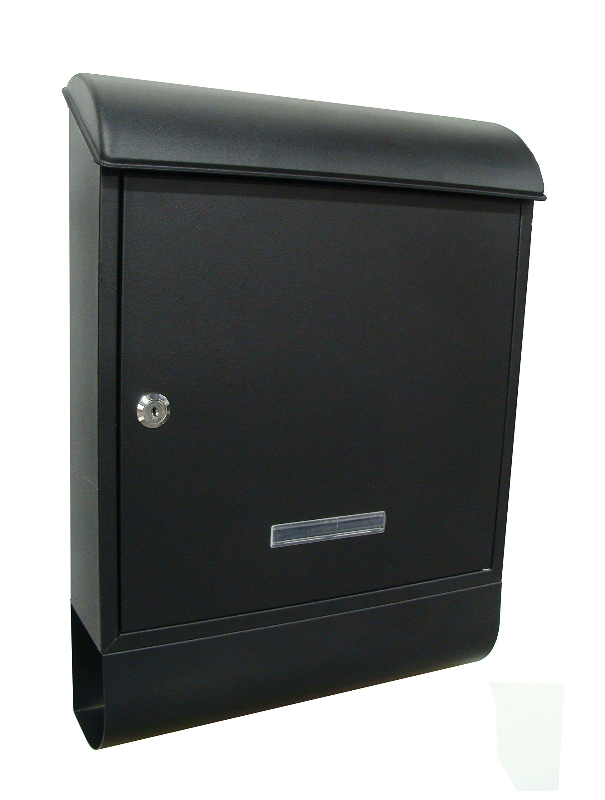 Fine Art Lighting Locked Mailbox with Newpaper Holder, 14.5 by 19.5 by 4.75-Inch, Includes 2 Keys