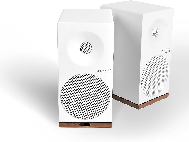 Tangent Spectrum X5BT Phono 50W Blanco Altavoz - Altavoces (De 2 vías, Inalámbrico y alámbrico, 3.5mm/Bluetooth, 50 W, 60-20000 Hz, Blanco)