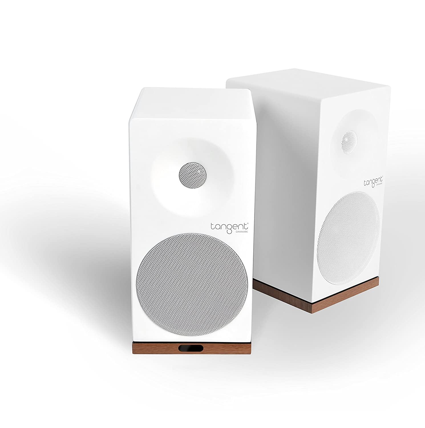 Tangent Spectrum X5BT Phono 50W Blanco Altavoz - Altavoces (De 2 vías, Inalámbrico y alámbrico, 3.5mm/Bluetooth, 50 W, 60-20000 Hz, Blanco)