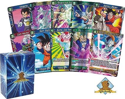 4 Dragon Ball Super Card Game 50 Card Bundle Set 1 5 2 6 Great Present! 3