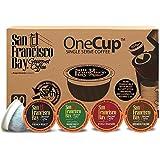San Francisco Bay Coffee French Roast Single Serve Coffee for Keurig, Original, 80 Count