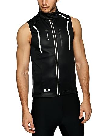 2XU Men s Membrane Cycle Vest ATC ATC Cycling Gilet - Black 7e8815033