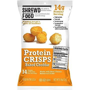 best Shrewd Food Baked Cheddar Keto Protein Crisps reviews