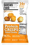 Baked Cheddar Protein Crisps (8-Pack of .74oz Bags)
