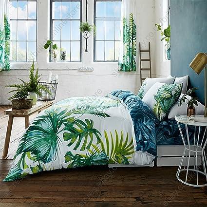 select ed ® de Lujo Tropical hojas Funda Nórdica/juego de funda de