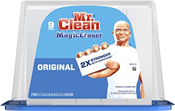 9-Count Mr. Clean Magic Eraser Original Cleaning Pads with Durafoam