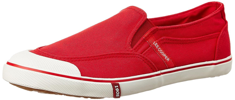Buy Lee Cooper Men's Red Sneakers - 11