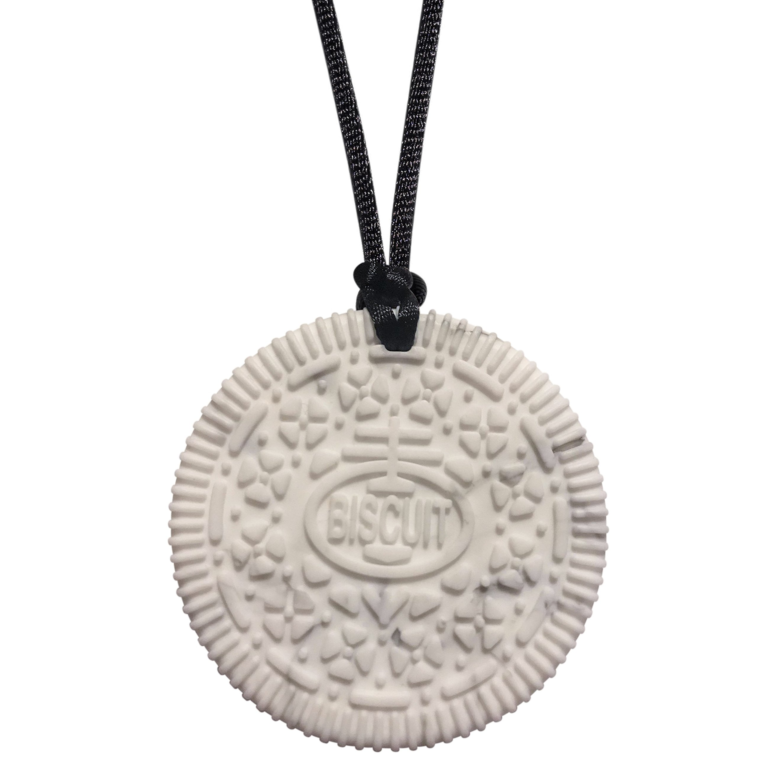 Sensory Oral Motor Aide Chewelry Necklace - Munchables Biscuit Chewy (Marble)