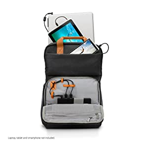Perfect storage for a laptop, tablet and smartphone