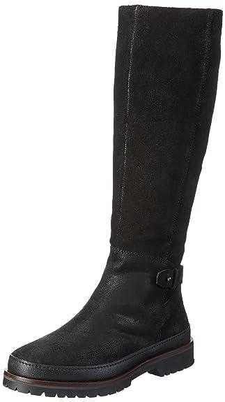 Marc O'Polo Stiefel, Botines para Mujer, Negro-Schwarz (Black 990), 36 2/3 EU
