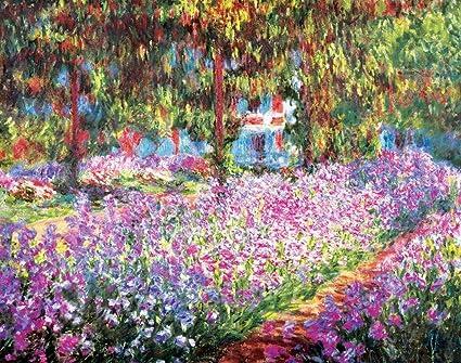 Merveilleux Claude Monet Garden At Giverny Art Print Poster Masterprint Art Poster  Print By Claude Monet,