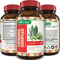 Natural Candida Cleanse – Immune Booster Supplement with Probiotic Oregano Leaf...