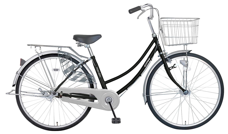 marukin(マルキン) 完全組立 26インチ自転車 LEDオートライト B077YDLKSP ブラック ブラック