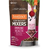 Instinct Freeze Dried Raw Boost Mixers Grain Free Recipe All Natural Dog Food Toppers with Functional Ingredients