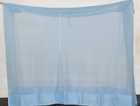 Fashion Centre Polyster Mosquito net 7*6.5ft, Blue