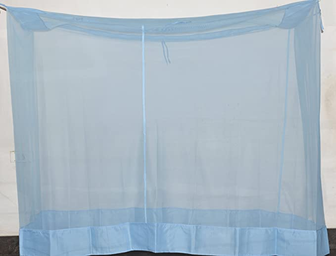 Fashion Centre Polyster Mosquito net 5*6.5ft, Blue