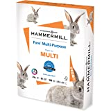 Hammermill Printer Paper, Fore Multipurpose 24 lb Copy Paper, 8.5 x 11 - 1 Ream (500 Sheets) - 96 Bright, Made in the USA, 10