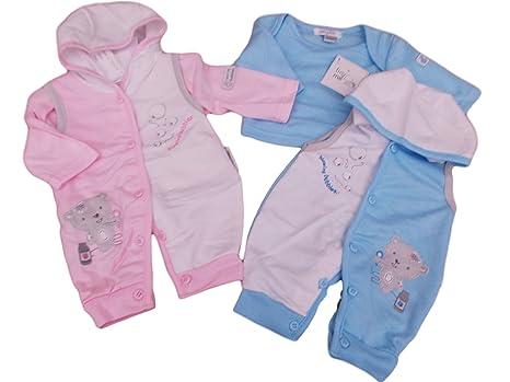 BNWT Reborn prematuro Preemie ropa de bebé 2 piezas (todo en uno con ...