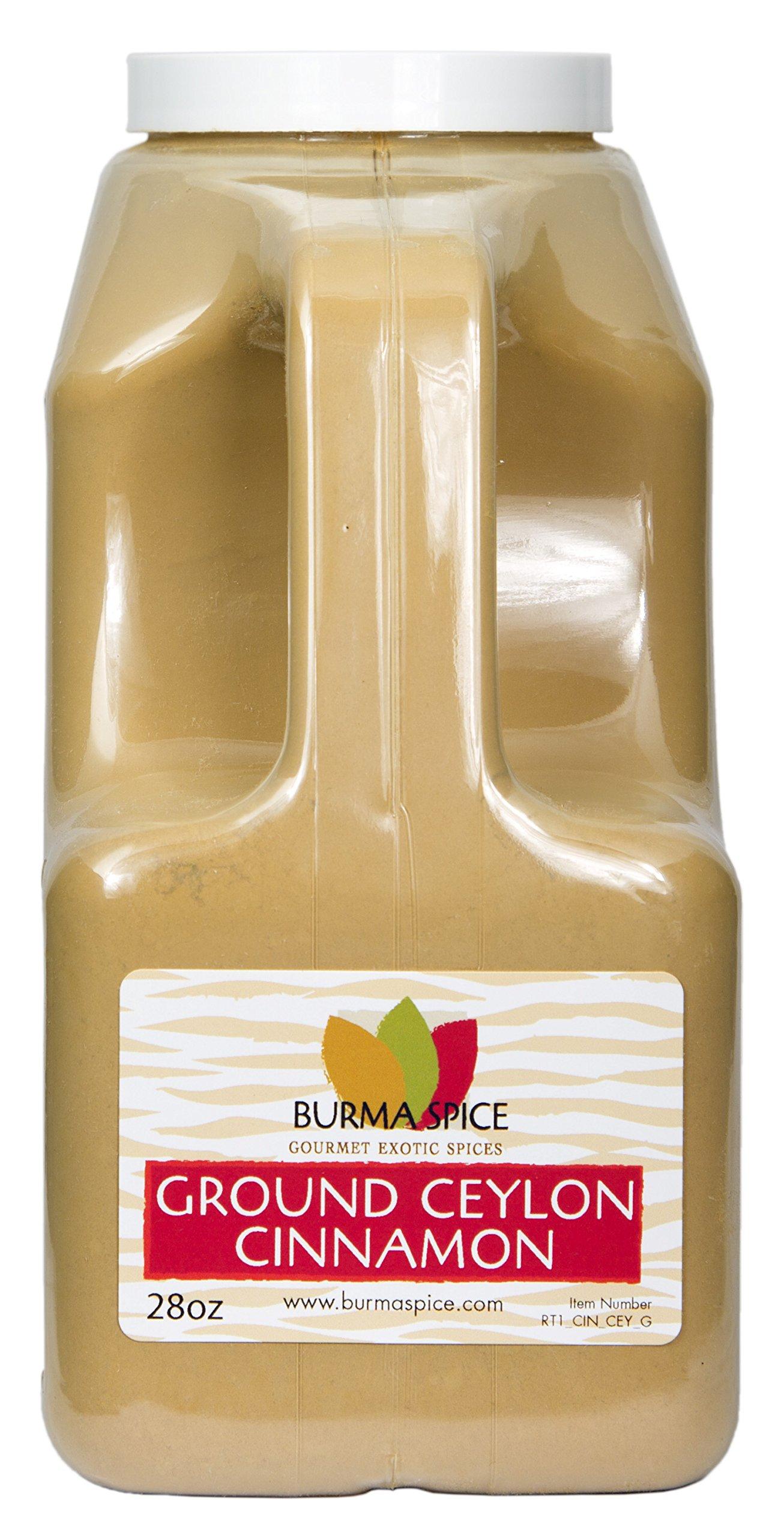 Ground Ceylon Cinnamon | Very freshly ground | Highest Premium Grade | 100% Pure with no additives | Kosher Certified (28oz) by Burma Spice (Image #1)