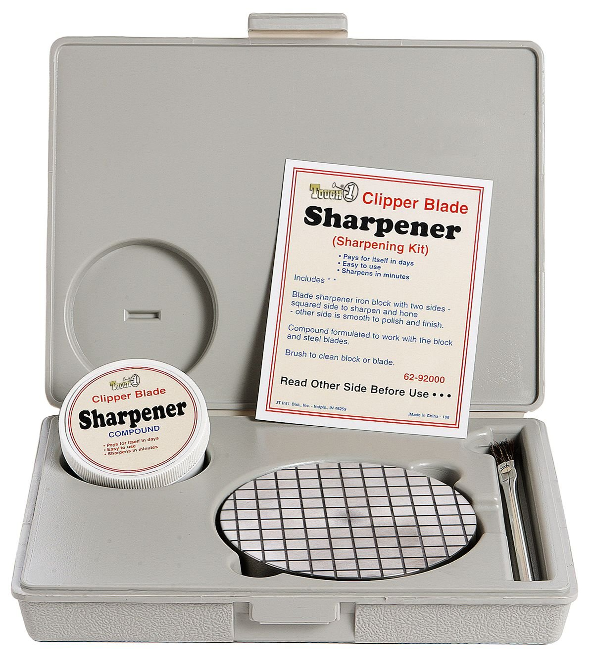 Amazon.com : Tough 1 Clipper Blade Sharpener Kit : Horse Clippers ...