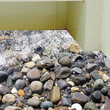 Bäche Kieselsteine Küche Bad Dekoration Wandaufkleber Bodenaufkleber