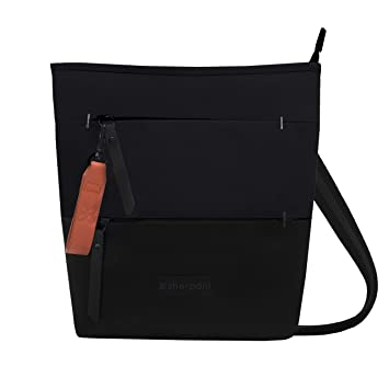 a81abb7fe1 Amazon.com: Sherpani RFID Sadie Crossbody Bag Multipurpose Backpack Raven  One Size: Sherpani