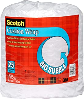 product image for Scotch Big Bubble Cushion Wrap, 12 in x 25 ft., 1 Roll/Pack (BB7912-25-ESF)