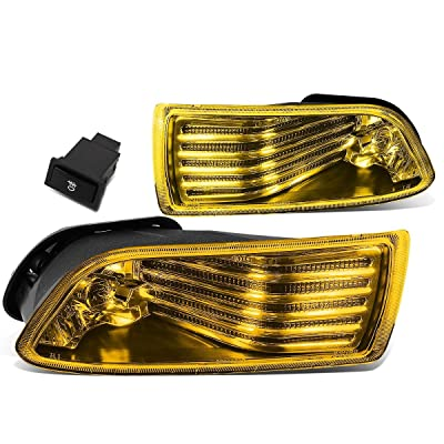 DNA MOTORING FL-ZTL-153-AM Front Bumper Fog Light, Driver and Passenger Side: Automotive