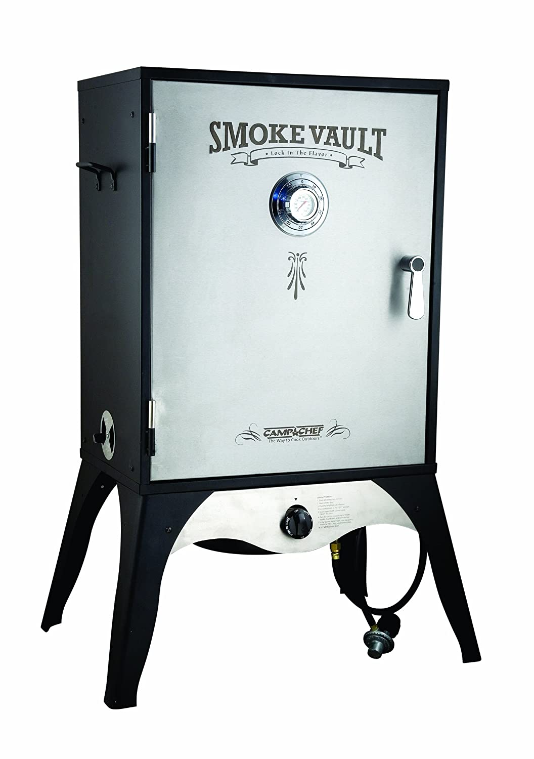 "Camp Chef Smoker 24"" ​Smoke Vault ​Extra Large with Stainless Door and Adjustable Shelves (SMV24​)"