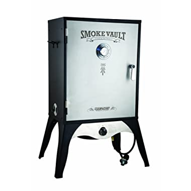 Camp Chef Smoker 24  Smoke Vault Extra Large with Stainless Door and Adjustable Shelves (SMV24)